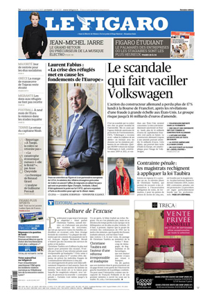 Le Figaro : First national daily newspaper in France