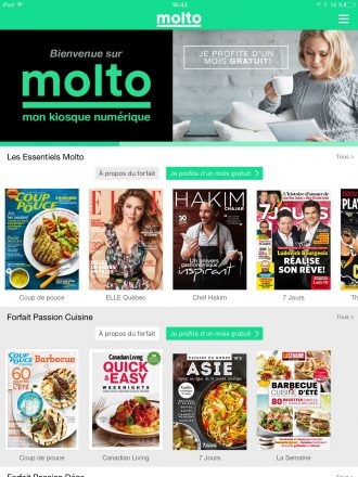 Molto : TVA PUBLICATIONS THE BIGGEST MAGAZINE PUBLISHER IN QUEBEC