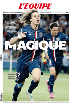 L'équipe : First worldwide sports daily newspaper
