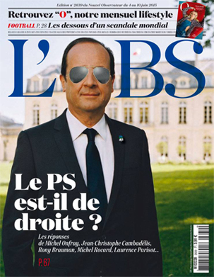 L'OBS : The main newsmagazine in France