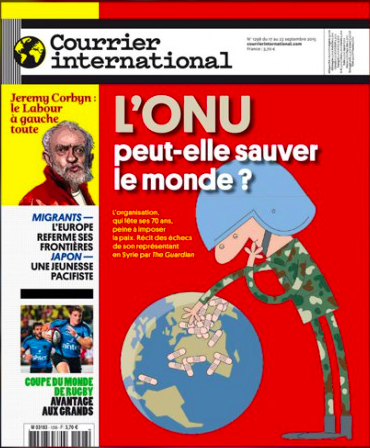 Courrier International : Worldwild news explained by the international press