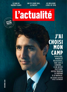 L'actualité : L'actualité the only one magazine on public business in Quebec